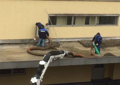 Dächer absaugen